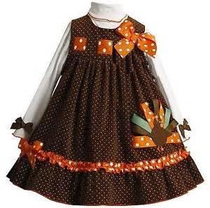 new girls bonnie jean 2pc turkey jumper dress thanksgiving
