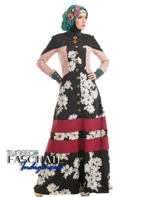 Gamis Flower B Pin By Butik Sasmaya On Tuneeca Collection