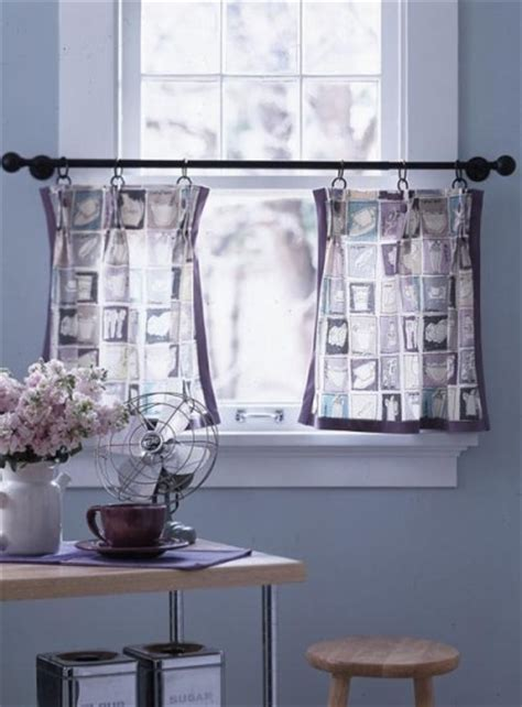 Kitchen Cafe Curtains Ideas Great Window Treatment Ideas Discover Home Improvement