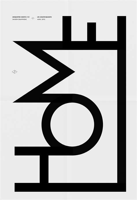 design inspiration black and white graphic design studio in paris typographies typo image
