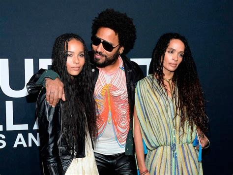 zoe kravitz mother and father zoe kravitz left with dad lenny kravitz and mom lisa