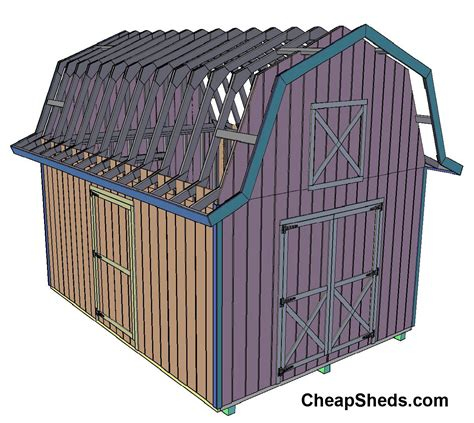 barn style roof shed roof styles 16 16 gambrel shed joy studio design