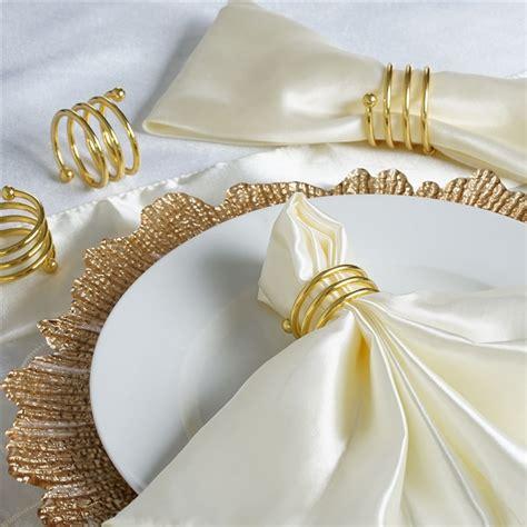 Alumunium Napkin Ring aluminum napkins rings wedding kitchen catering