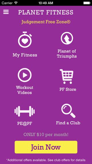 Planet Fitness Background Check Planet Fitness On The App Store On Itunes