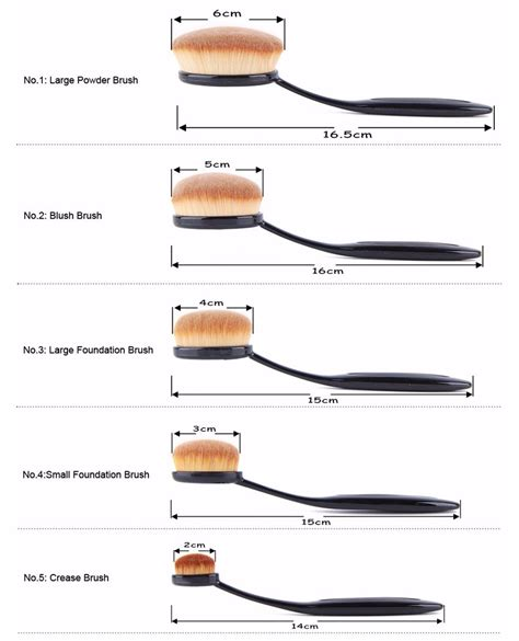 Kuas Makeup Brush Set 20 Pcs Black kuas kosmetik make up oval brush wajah 10 pcs black