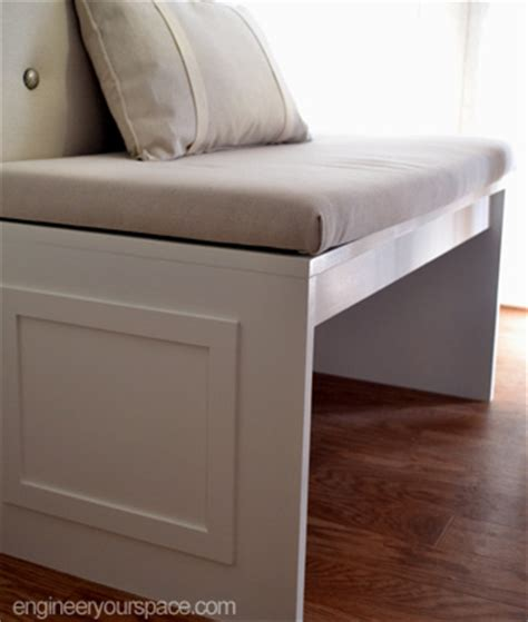 how to build a banquette bench how to build a bench for a banquette smart diy solutions for renters