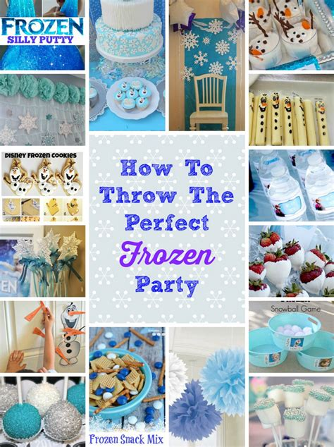 frozen themed party kelso how to throw the perfect frozen themed birthday party
