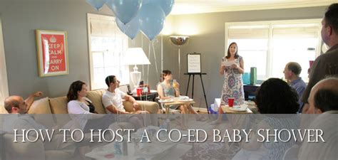 Coed Baby Shower Ideas by How To Host A Coed Baby Shower Couples Baby Shower Ideas