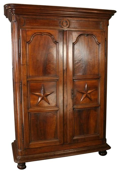 traditional armoire louis xiv period armoire 1710 walnut traditional
