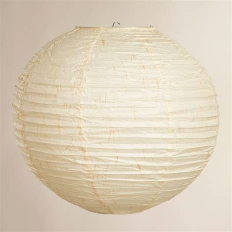 Kumo Round Paper Lantern Asian Ceiling Lighting By Paper Lantern Ceiling Light
