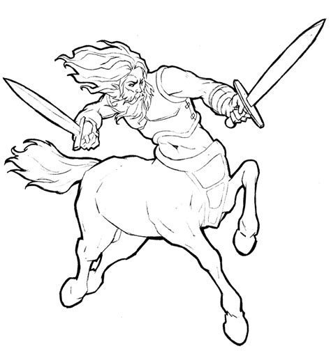 centaur girl coloring page centaur coloring pages beautiful coloring pages