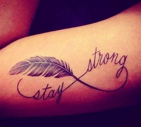 stay strong tattoo stay strong quotes tattoos quotesgram