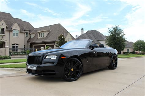 murdered rolls royce murdered out convertible rolls royce wraith reworked by
