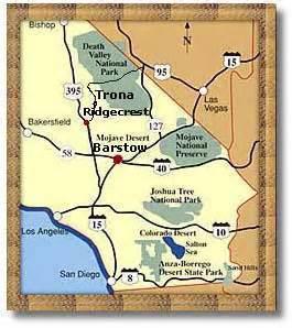 trona california map trona ca desertusa