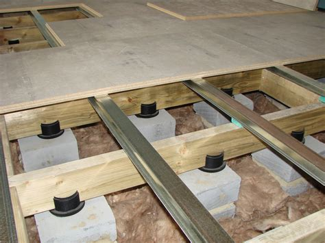 acoustic floating floors overview acoustic floating
