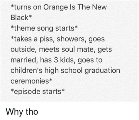song orange is the new black orange is the new black theme song