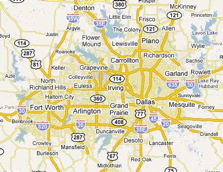 map of dallas and suburbs this is me where oh where to live