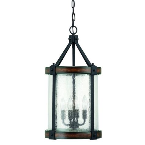 Pendant Lighting Canada Shop Kichler Lighting 4 Light Wood Foyer Pendant At Lowe S Canada Find Our Selection Of Pendant