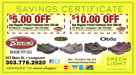 the comfort company coupon code brown s shoe fit co boulder coupons the daily camera