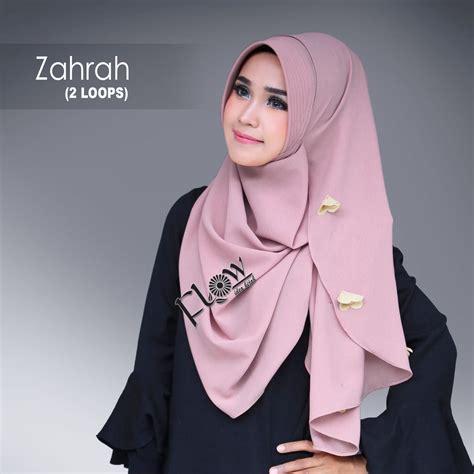 Jilbab Instan Flow Terbaru jilbab instant zahrah flow idea jilbabbranded biz jual jilbab branded original