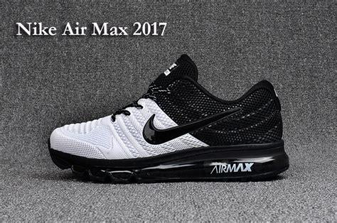 selling running shoes selling nike air max 2017 kpu white black 849559 008