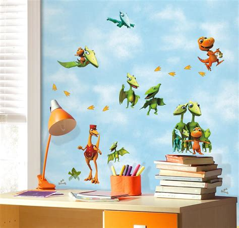 new dinosaur wall decals dinosaurs bedroom
