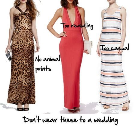 are maxi dresses ok for weddings appropriate dresses for a wedding