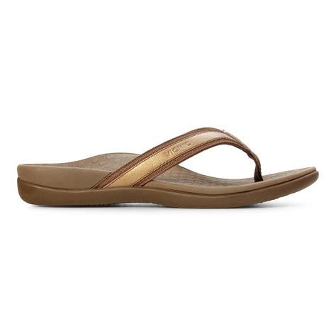 orthaheels sandals vionic tide ii s leather orthaheel sandals