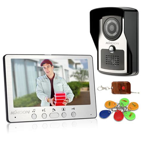 best kkmoon 174 7 quot wired door phone system visual
