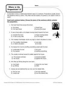 15 best images of preposition worksheets for kids