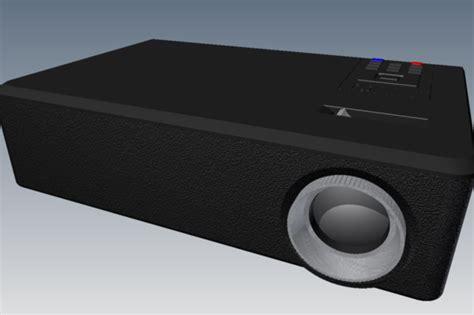 Ohp Proyektor Acer acer dsv0008 projector stl step iges other 3d cad model grabcad