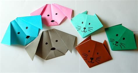 Paper Folding Cat - image gallery origami activities