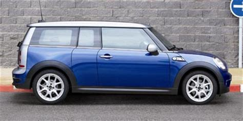 all car manuals free 2009 mini clubman parking system 2008 mini cooper clubman review ratings specs prices and photos the car connection