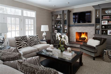 family room interior modern classic interiors modern family room new york
