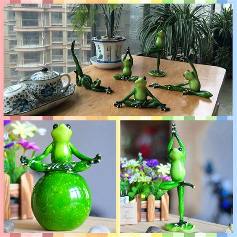 Family Frog Limited free shipping frog family mini figures pilates