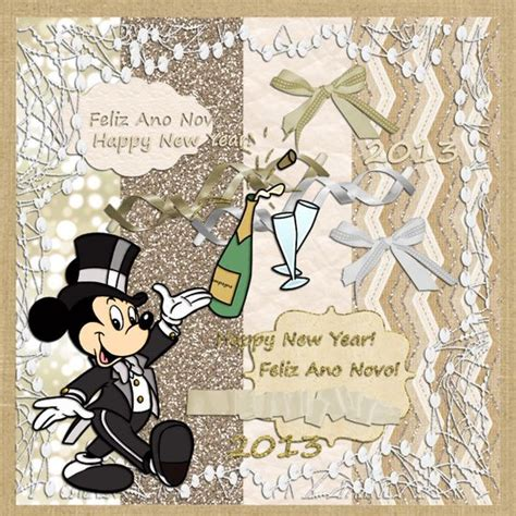 mini new year scrapbook kit happy new year and scrapbook on