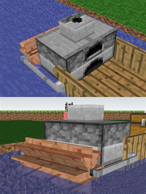minecraft boat go up boats evolved bigger modular boats suggestions