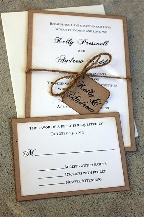 rustic photo wedding invitations wedding invitations rustic wedding invitations boho wedding