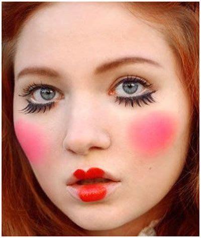 makeup tutorial two face best 25 doll face makeup ideas on pinterest doll makeup