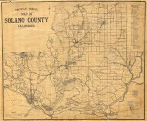 Solano County Court Records Solano History Database Maps Solano History Database