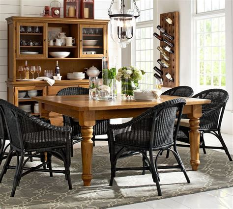 pottery barn dining room dining room pinterest pottery barn sumner square fixed dining table and