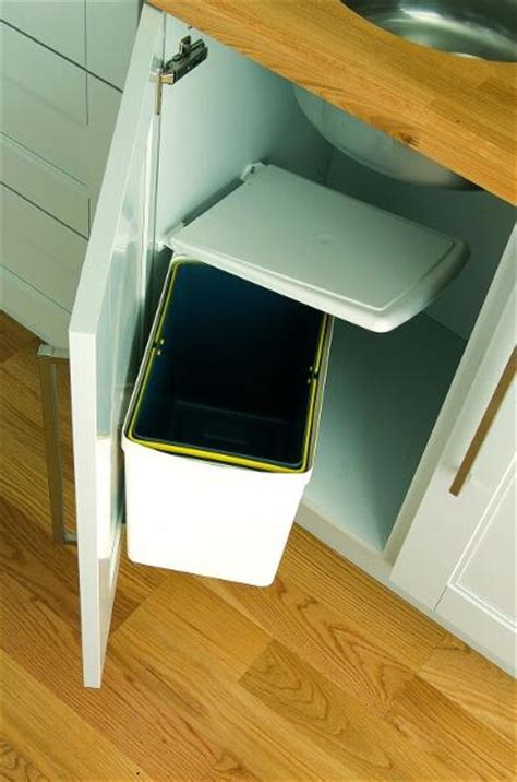 Kitchen Cabinet Door Finishes under sink waste bin 16 litres lark amp larks