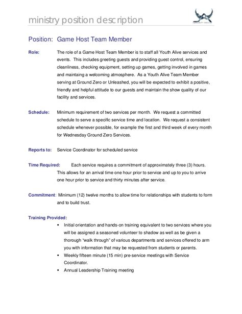 Hostess Description For Resume by Hostess Duties Resume Twnctry