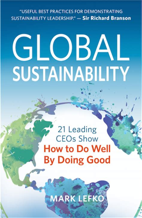 the significance of sustainability books global sustainability how to do well by doing