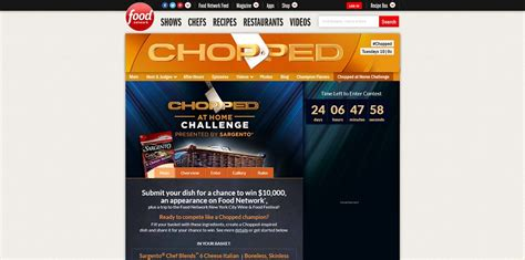 chopped at home challenge foodnetwork choppedchallenge
