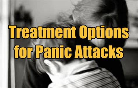 Detox Panic Attacks by Treatment Options For Panic Attacks Will Cognitive