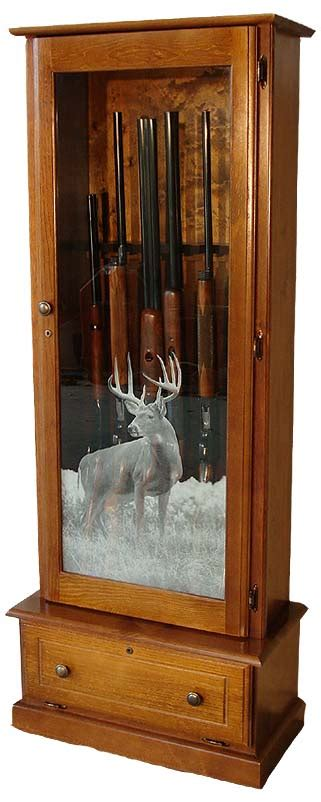 wood gun cabinet with etched glass playhouse treehouse plans wooden gun cabinets with etched
