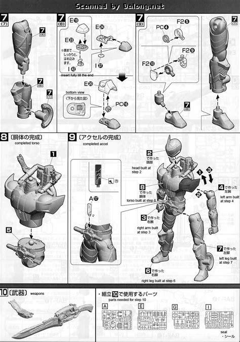 Model Kit Bandai Kamen Rider Accel Motor mg figurerise kamen rider accel manual color