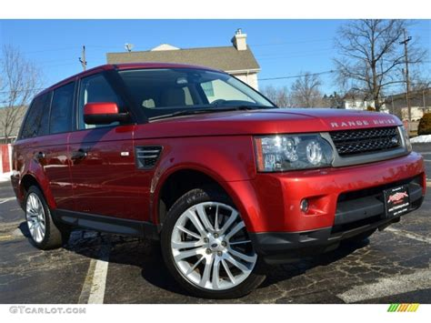 red land rover 2010 rimini red land rover range rover sport hse 77474120
