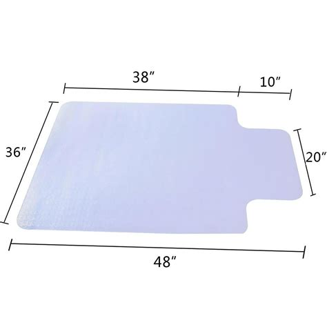 Desk Floor Mat Clear by 36 Quot X 48 Quot Clear Chair Mat Home Office Computer Desk Floor Carpet Pvc Protector Ebay